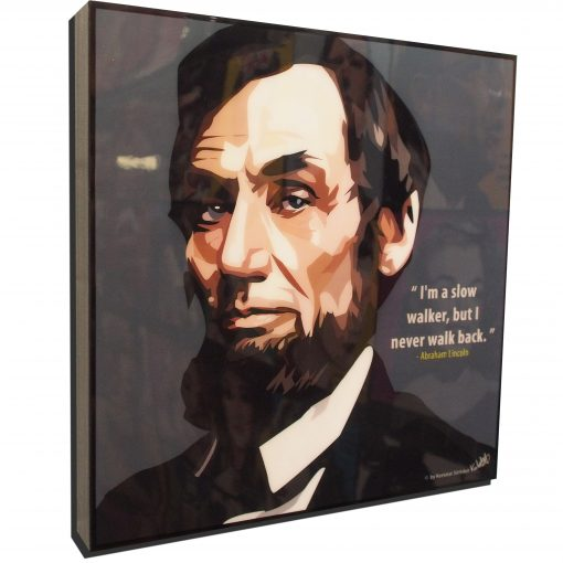 Abraham Lincoln Poster Plaque