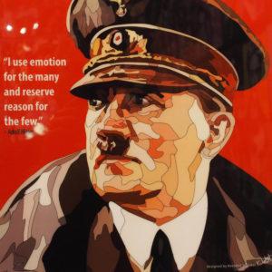 Adolf Hitler Poster Plaque