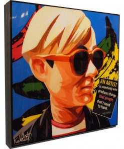 Andy Warhol Poster Plaque