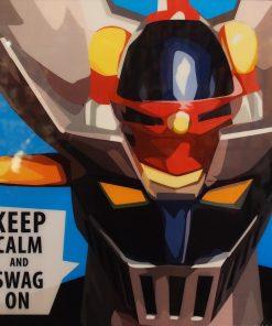 Mazinger Z Poster Plaque