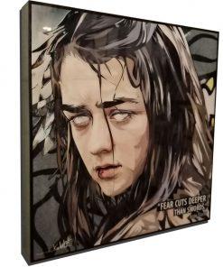 Arya Stark Poster Plaque