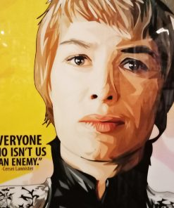 Cersei Lannister Poster Plaque 2
