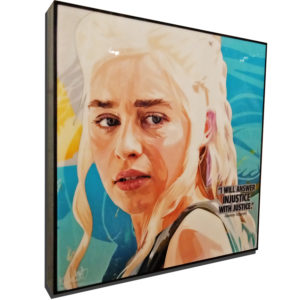Daenerys Targaryen Poster Plaque
