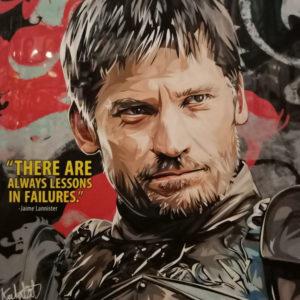 Jaime Lannister Poster Plaque S1