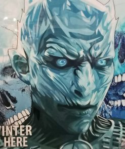 The Night King Poster Plaque