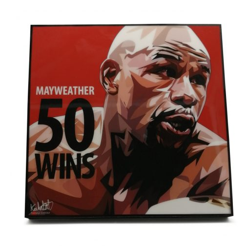 50-0 mayweather poster
