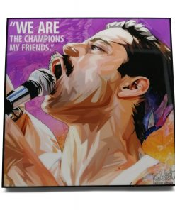 Freddie Mercury Pop Art Poster