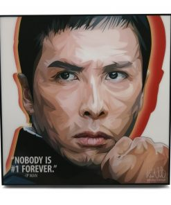 Ip Man Pop Art Poster by Keetatat Sitthiket.