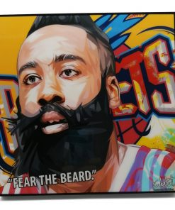 James Harden Pop Art Poster