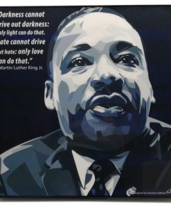 Martin Luther King Jr Pop Art Poster
