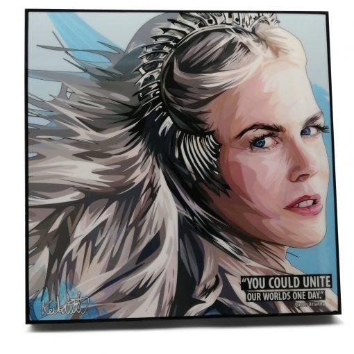 Queen Atlanta Pop Art Poster