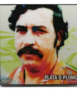 Pablo Escobar Pop Art Poster