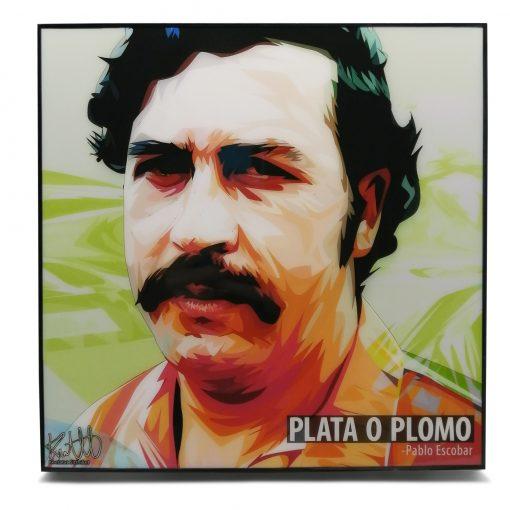Pablo Escobar Pop Art Poster