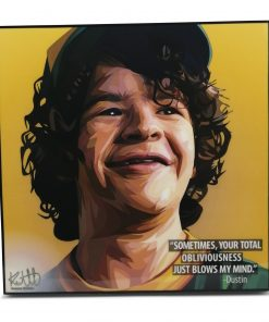 Stranger Things Dustin Pop Art Poster