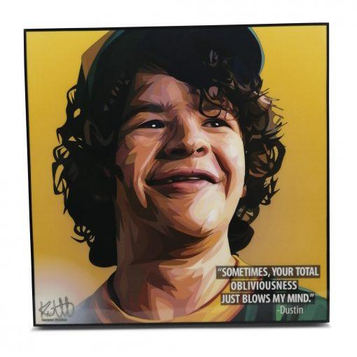 Stranger Things Dustin Pop Art Poster