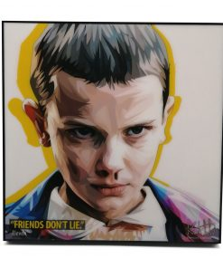 Stranger Thing Eleven Pop Art Poster