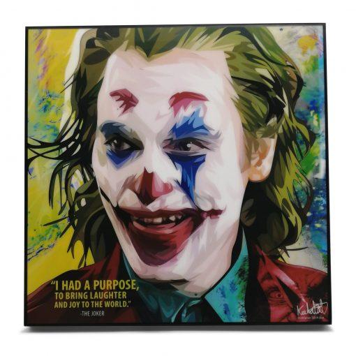 Joker Pop Art Poster