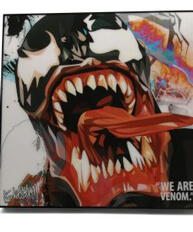 Venom Pop Art Poster