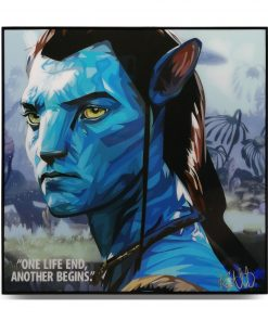 "Avatar Pop Art Poster by Keetatat Sitthiket ""One life end, another begins"""